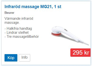 Massage med infrarött